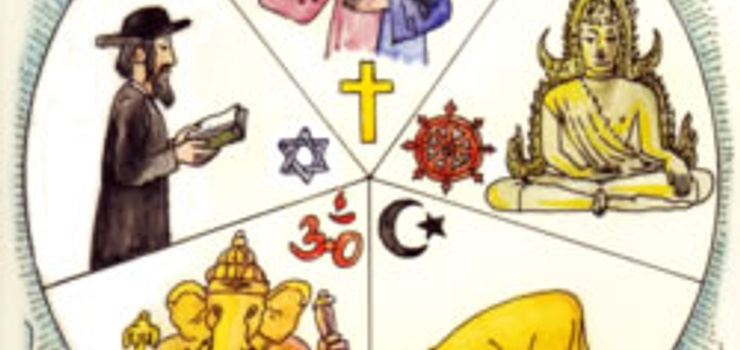 5 Weltreligionen